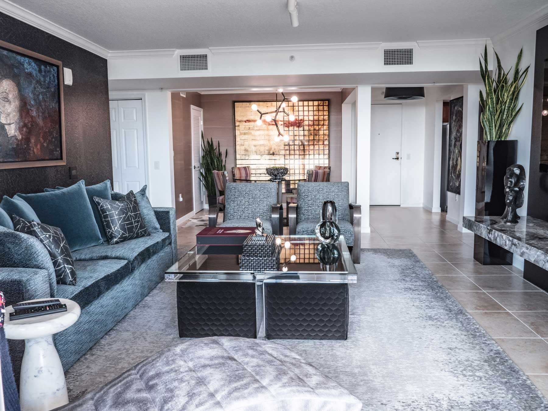 Residences at Royal Palm Place Living Room